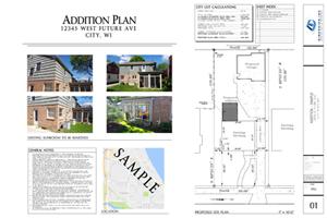 Dimension Addition Plan - SAMPLE 01