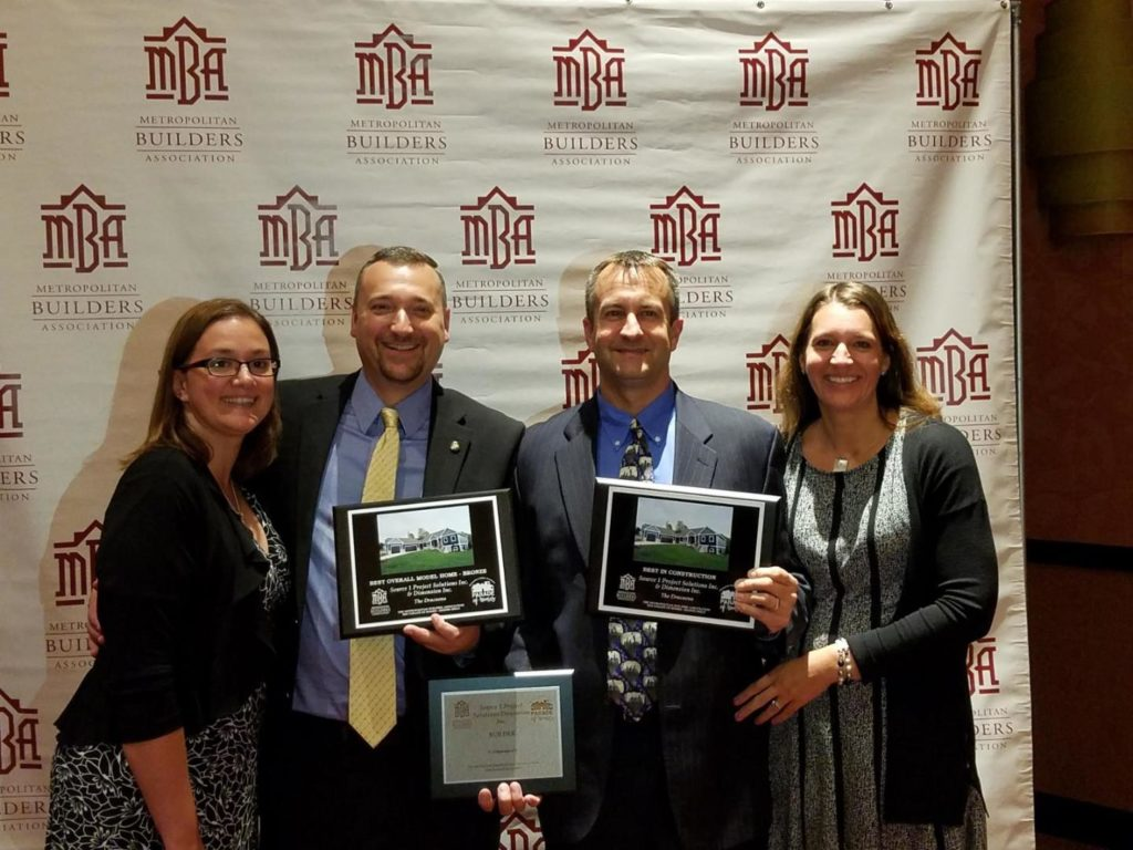 Best Overall Model Home - Bronze and Best In Construction