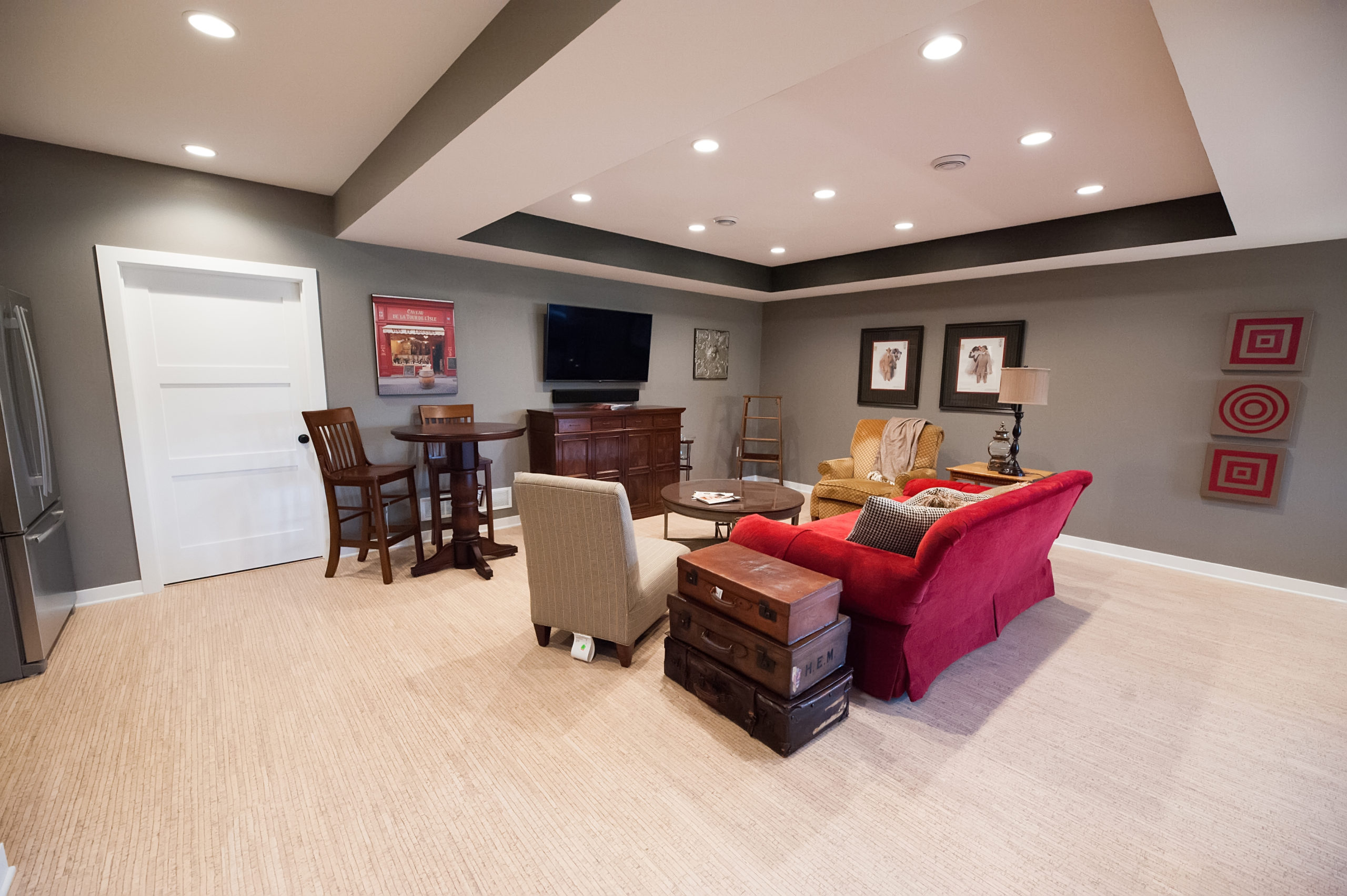 Basement Remodel - Dimension Inc. - $500 Amazon Gift Card Offer with Signed Design Contract