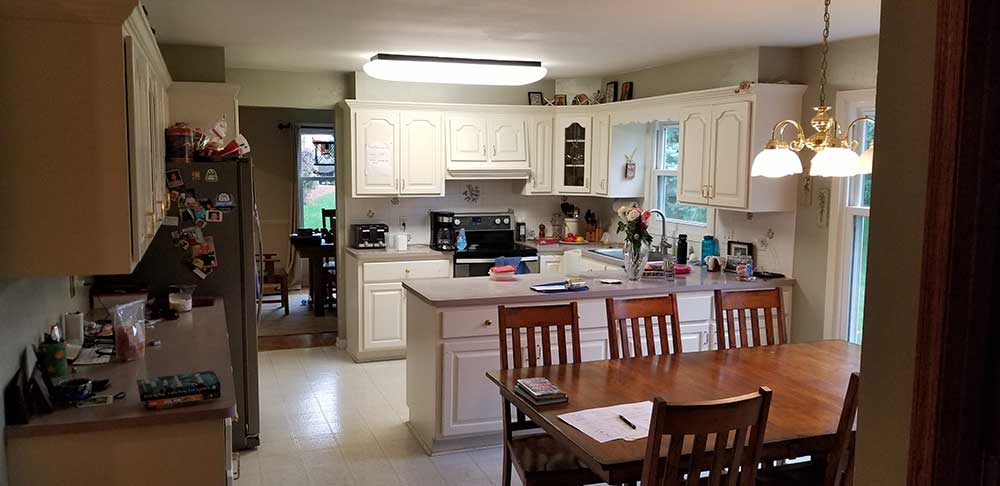 Brookfield Kitchen Features Expanded Space and Healthy Home Components